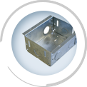 GI Flush Steel Outlet Boxes